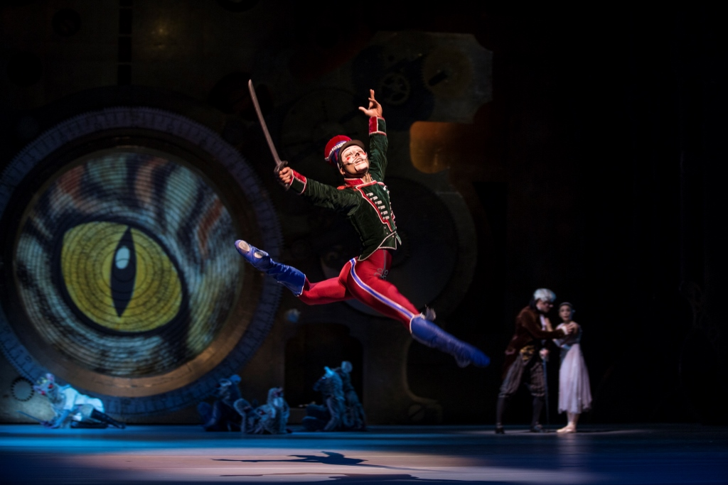 Young Gyu Choi as The NutcrackerPhoto Angela Sterling