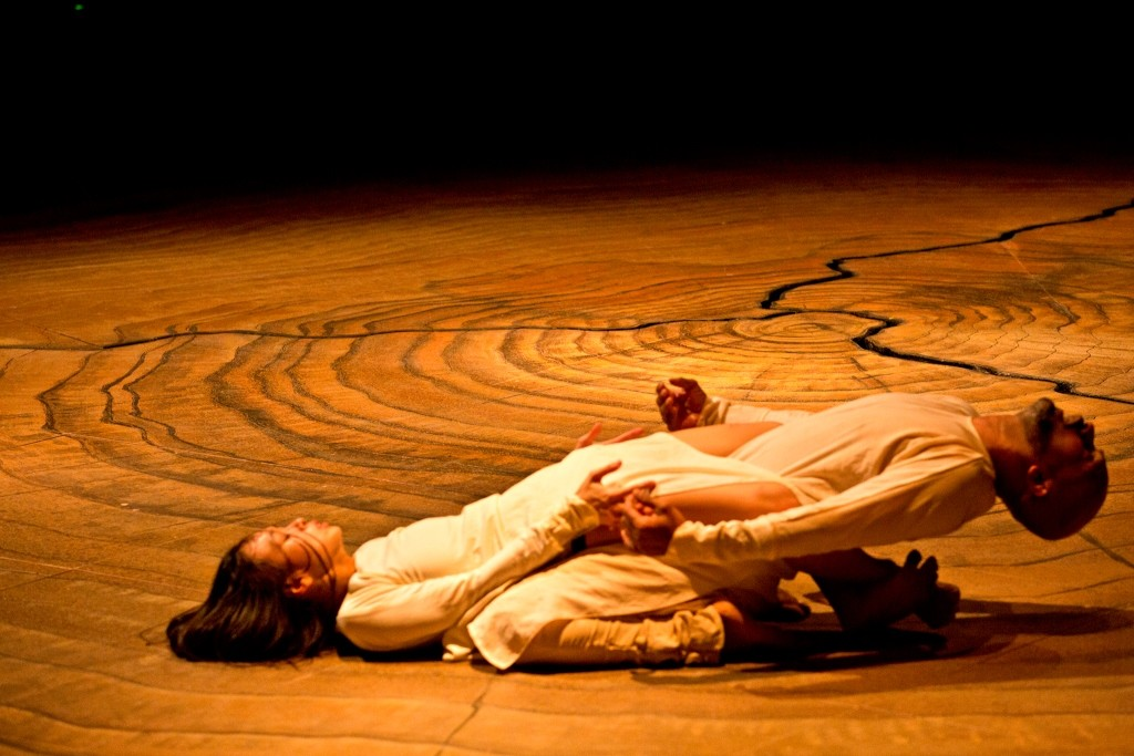 Ching-ying Chien and Akram Khan in Until the Lions Photo Jean Louis Fernandez