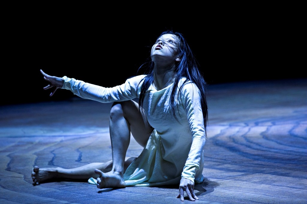 Ching-ying Chien in Akram Khan's Until the LionsPhoto Jean Louis Fernandez