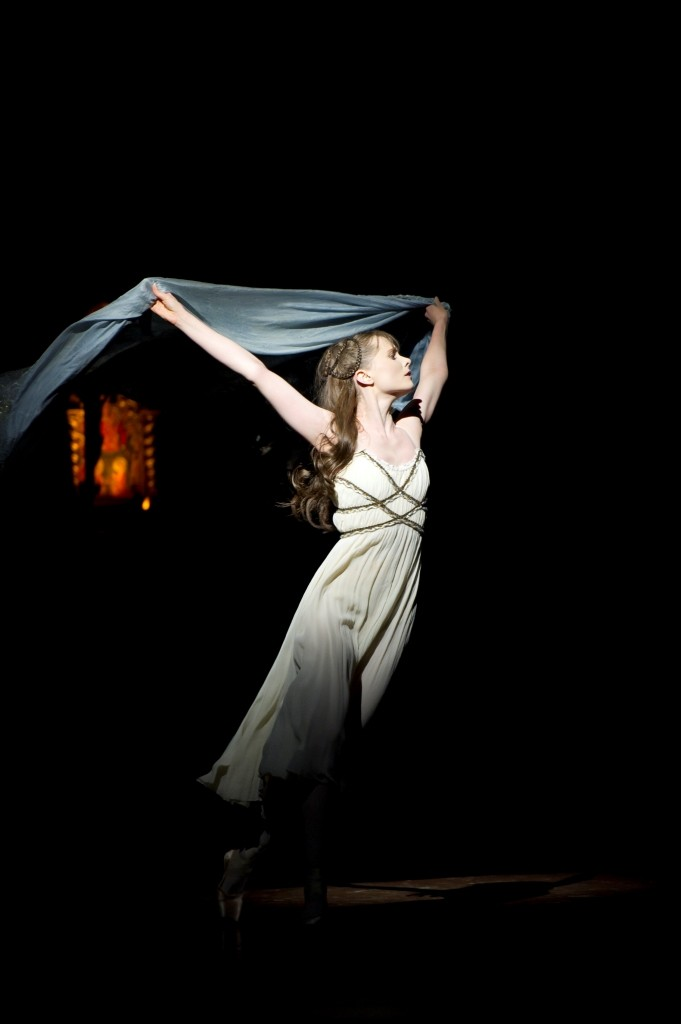 Jenna Roberts as JulietPhoto Bill Cooper