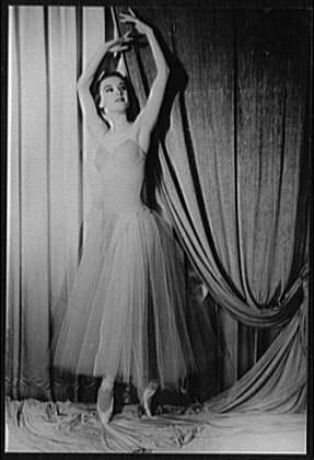 Violette Verdy in 1961Photo Carl Van Vechten
