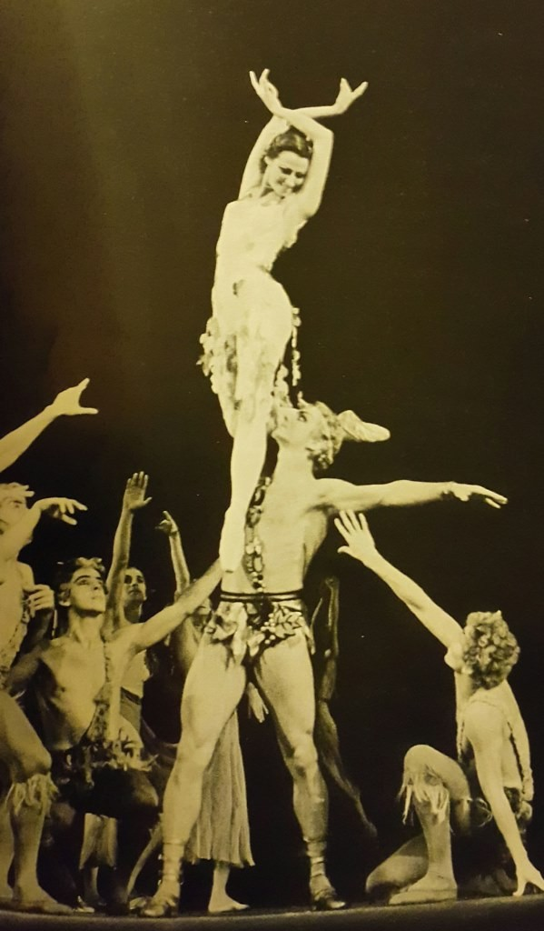 Maya Plisetskaya and Maris Liepa in Walpurgis Night in 1960