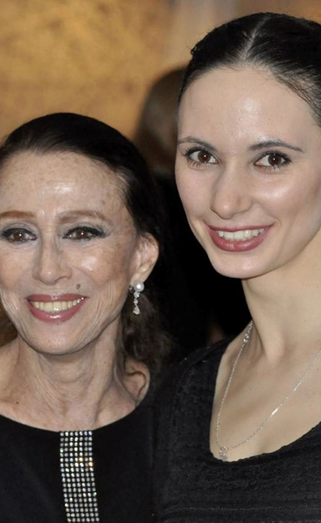 Maya Plisetskaya (left) and Liudmila Konovalova