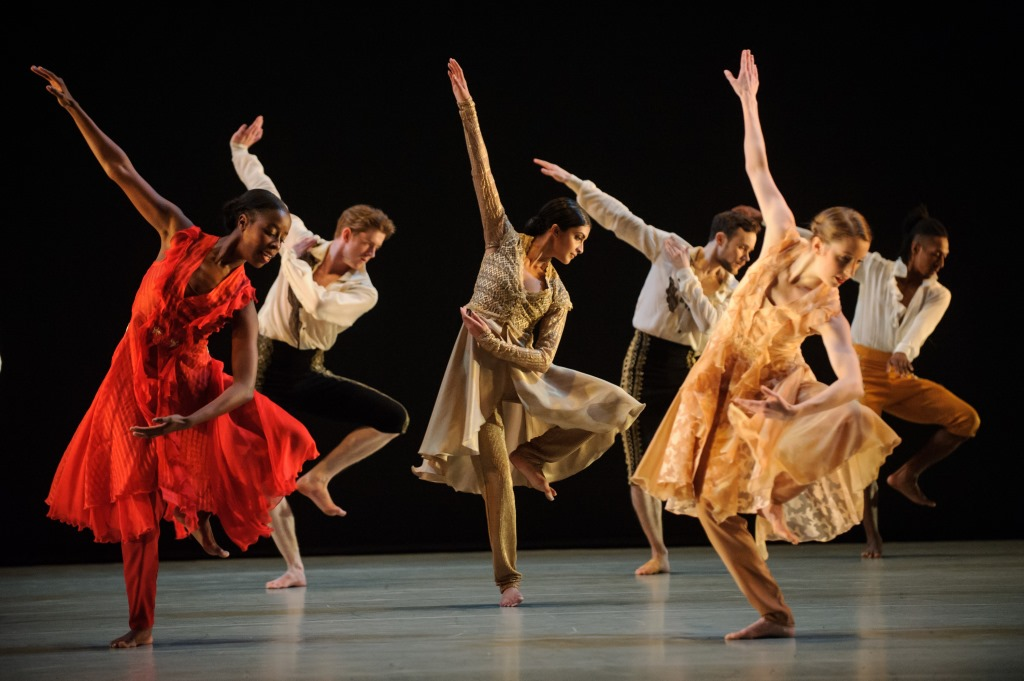 Clean precision from Richard Alston Dance Company