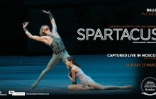 Cinema screening: The Bolshoi Ballet in Spartacus