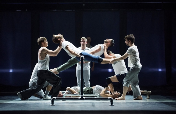 The BalletBoyz in Fiction from Life. Photo Tristram Kenton