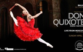 The Bolshoi's Don Quixote in cinemas this weekend