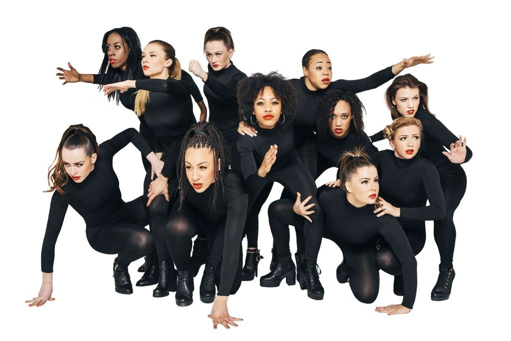 Myself UK Dance Company, this year performing RedPhoto Leanne Dixon