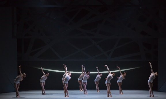 Scottish Ballet in David Dawson's Swan LakePhoto Andy Ross