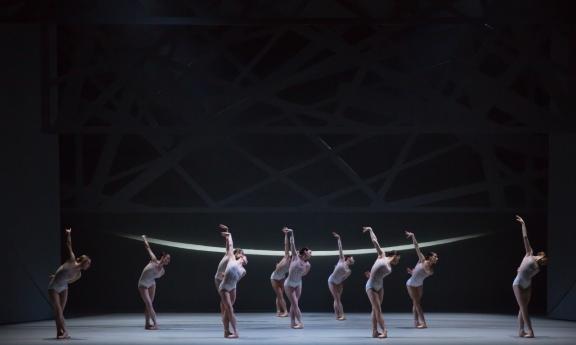 Scottish Ballet in David Dawson's Swan LakePhoto Andy Ross