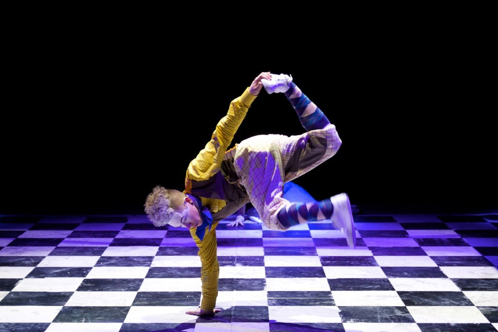 Corey Culverwell as The White Rabbit in ZooNation's The Mad Hatter's tea PartyPhoto Royal Opera House/Alice Pennefather