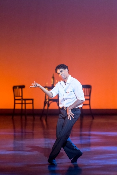 Carlos Acosta in Les BourgeoisPhoto Johan Persson