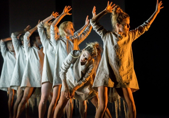 Rambert Dance Company in Tomorrow by Lucy GuerinPhoto Johan Persson