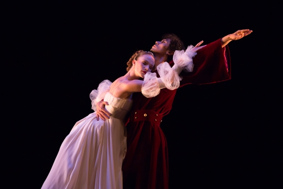 Tyrone Singleton as The Moor and Delia Matthews as his wife in The Moor's Pavane by Jose LimonPhoto Andrew Ross
