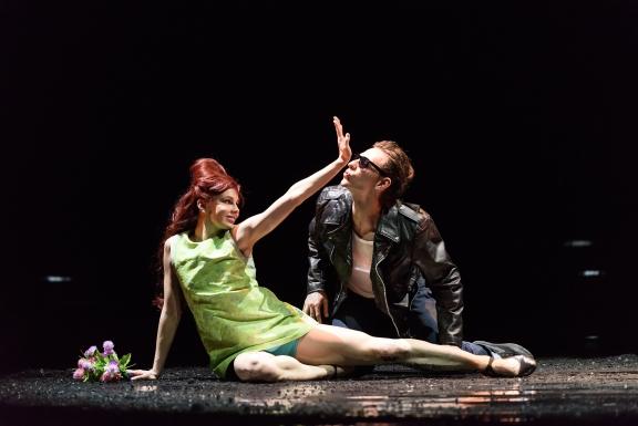 Natalia Osipova and Sergei Polunin in Run Mary RunPhoto Bill Cooper