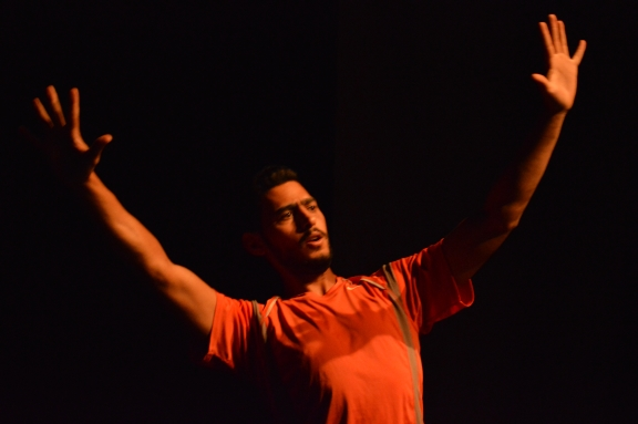 The Rooster and Partial Memory, a Palestinian/Lebanese collaboration at Dance BasePhoto Dance Base