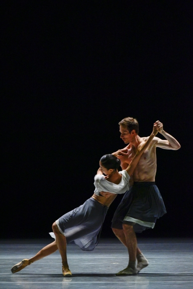 Sangeun Lee and Christian Bauch in ReminiscencesPhoto Youngmo Choe