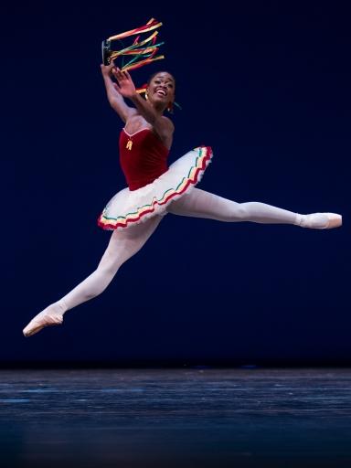 Michaela DePrince in Balanchine's TarantellaPhoto Altin Kaftira