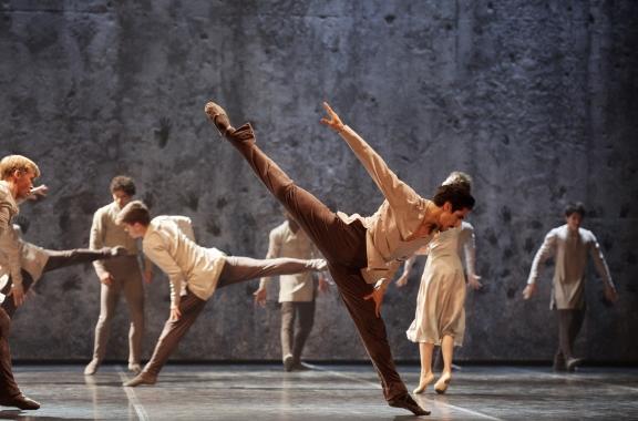 Cesar Corrales as Hilarion in Akram Khan's GisellePhoto Laurent Liotardo
