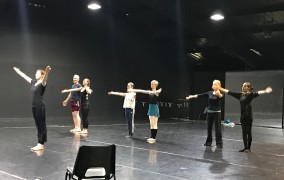 Dance writers dancing! A Quintessential 'ballet boot camp'
