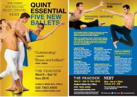 New English Ballet Theatre: Quintessential flyer
