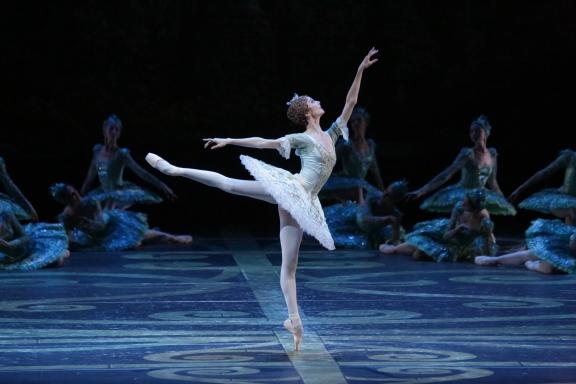 Svetlana Zakharova in The Sleeping BeautyPhoto Damir Yusupov