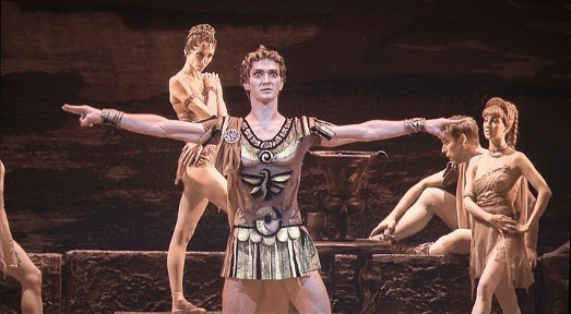 Spartacus at Bolshoi in Moscow, October 2013Photo Bengt Nyman