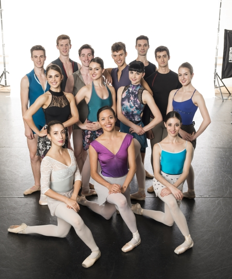 The young dancers of New English Ballet Theatre 2016Photo Patrick Baldwin