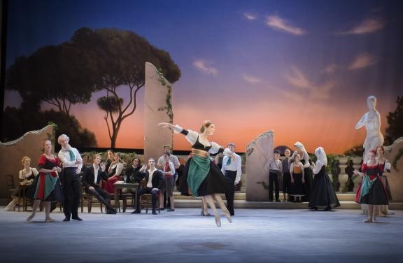 The Royal Swedish Ballet recreate Bournonville's Ponte Molle