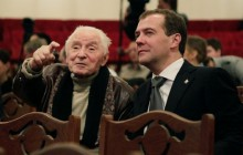 Yuri Grigorovich, master Russian choreographer, reaches his 90th birthday