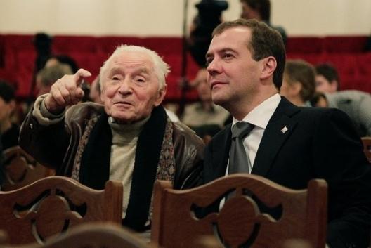 Yuri Grigorovich, master Russian choreographer, reaches his 90th birthday
