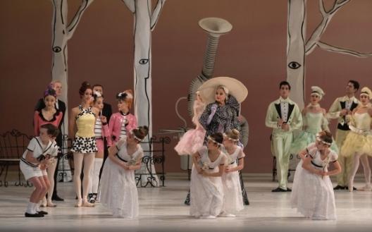 Dutch National Ballet in Ted Brandsen's CoppéliaPhoto Marc Haegeman