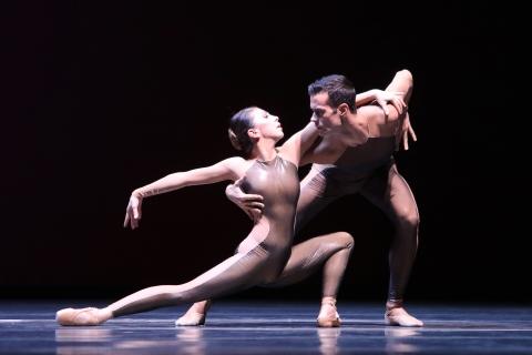 Suzanna Kaic and Vito Mazzeoin Homo Ludens (Playing Man) by Juanjo ArquésPhoto Hans Gerritsen