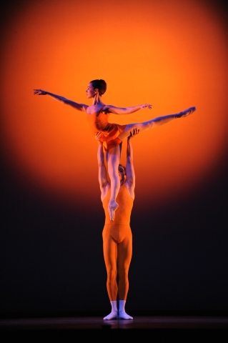 Sir Kenneth MacMillan's sublime Concerto(dancers: Natasha Oughtred and Jamie Bond)Photo Roy Smiljanic