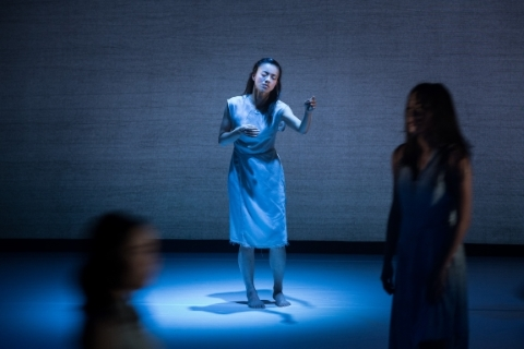 Chen Li-ya in A Blue State of MindPhoto Lee Chia-yeh