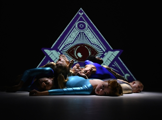 Rosie Kay Dance Company in MK UltraThe triangle and 'one-eye' are both Illuminati symbols says the theoryPhoto Brian Slater