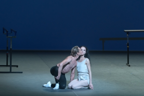 Svetlana Lunkina and Dmitri Gudanov in Afternoon of a FaunPhoto Marc Haegeman