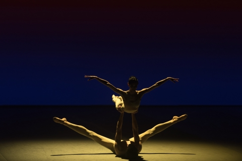 Lucia Laccara and Marlon Dino in Light RainPhoto Marc Haegeman