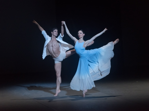 Liudmila Konovalova and Davide Dato in Theatrum VitaePhoto Marc Haegeman