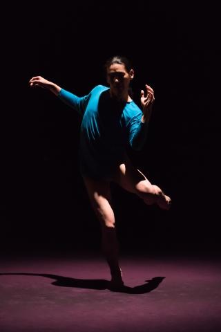 Chou Shu-yi in Free StepsPhoto Chen Chang-zhi