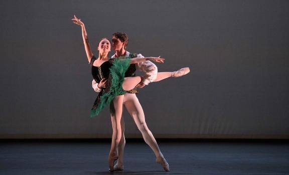 Rina Kanehara and Aitor Arrieta joint-winners of ENB's Emerging Dancer