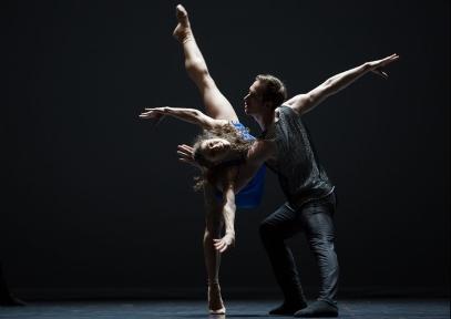 Courtney Richardson and Christian Bauch in QuintettPhoto Ian Whalen