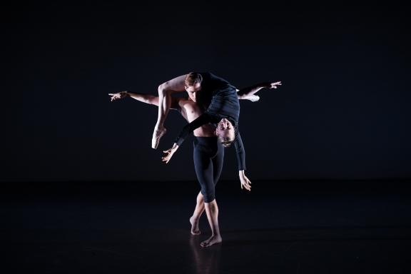 Elmhurst Ballet School 2017 graduates in Stéphen Delattre's Next BreathPhoto Andy Ross