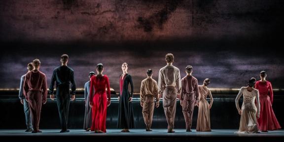 Dresden Semperoper Ballett capture the persuasive power of Kylian's Forgotten Land