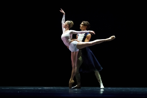 Khayla Fitzpatrick and Fabio Rinieri in Purcell Suite by Cristiano PrincipatoPhoto Michel Schnater