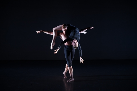 Lydia Holt and Charlampos Skoupas in Next Breath by Stephen DelattrePhoto Andrew Ross