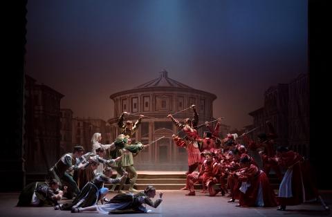 English National Ballet in Romeo & JulietLaurent Liotardo