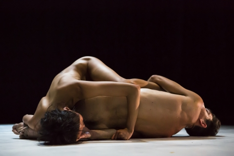 Zoltán Vakulya and Chen-Wei Lee in Together AlonePhoto Maria Falconer