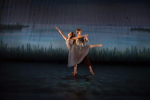 The National Youth Ballet in IKEN by Jonathan PaynPhoto Sean Purser