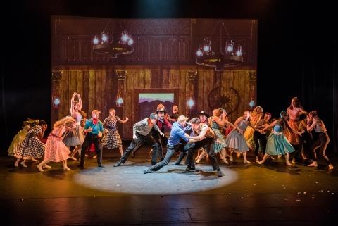 The National Youth Ballet in Oklahoma Dream! by Etta MurfittPhoto Sean Purser